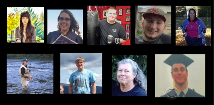 The victims at an Oregon community college are far more important than the killer.